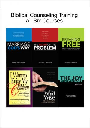 Biblical Counseling Training Six Book Pack